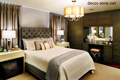 Modern Wooed Dressing Table Designs For Bedroom With Mirror