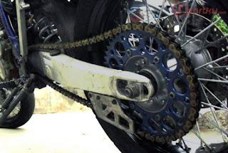 penyebab dan cara mengatasi masalah rantai motor yang berisik