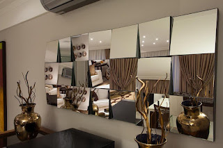 foto de Espelhos Decorativos-Espelhos com junções newartvidros