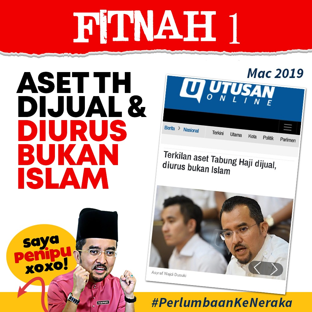 Fitnah Ketua Pemuda Umno