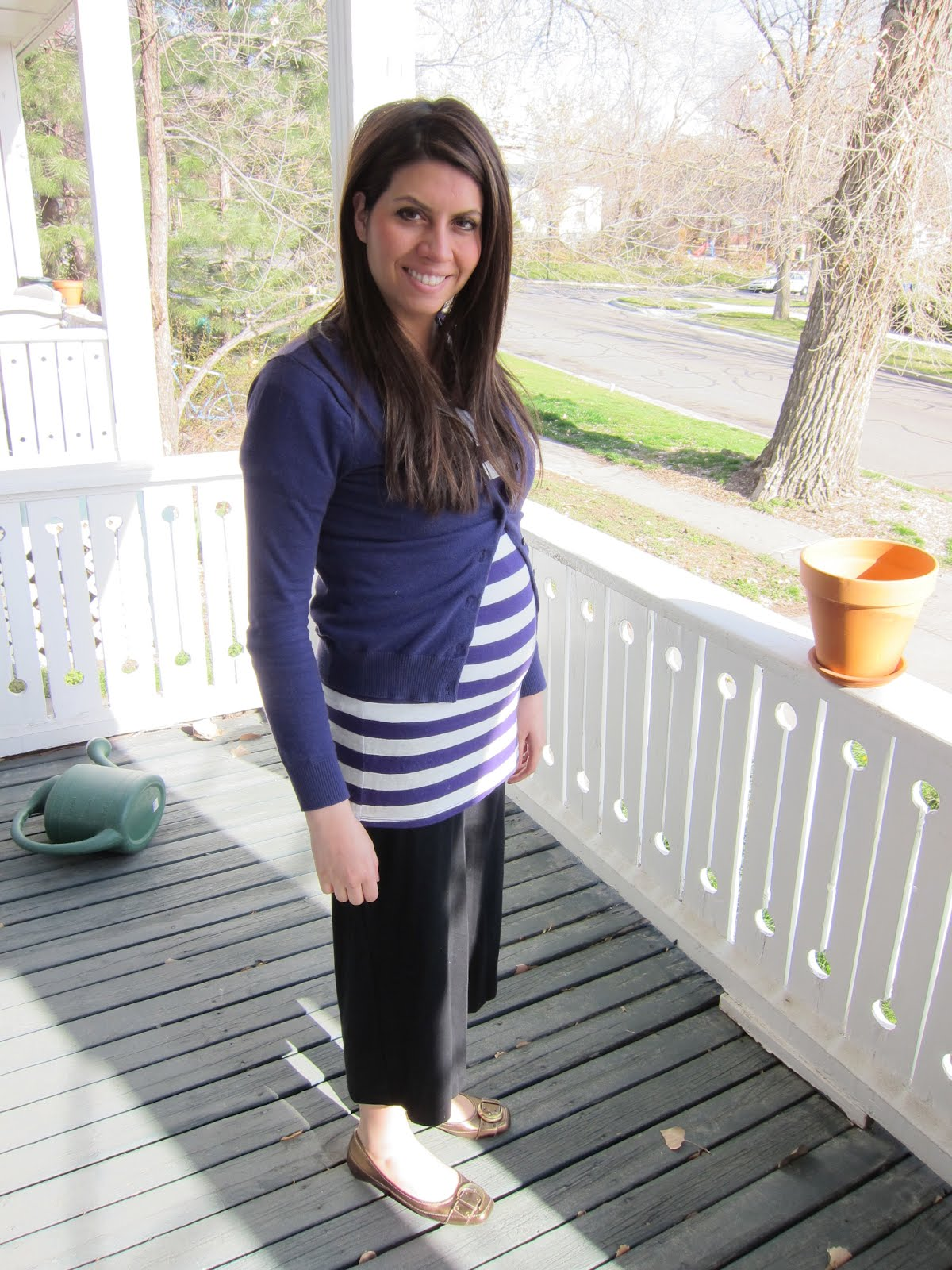 The Hanzon Family: 2010 - My belly at 21 weeks pregnant!