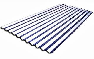 Daftar Harga Seng Gelombang galvalum, warna, bjls, 3m, per lembar, alumunium, besar, kecil, galvanis, Zincalume, Gelombang Kecil / Besar.