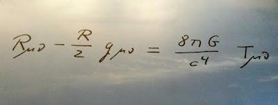 Ecuacion de la Teoria General de la Relatividad