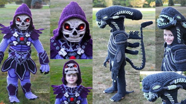 Check Out the Amazing Costumes One Mom Crocheted for Her Kids