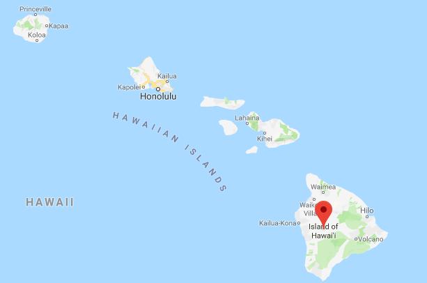 Geografi Kepulauan Hawaii