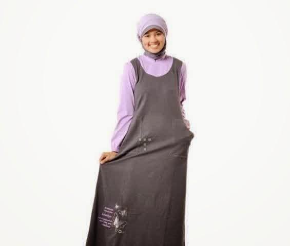 Contoh Model Baju Gamis Muslimah Terbaru