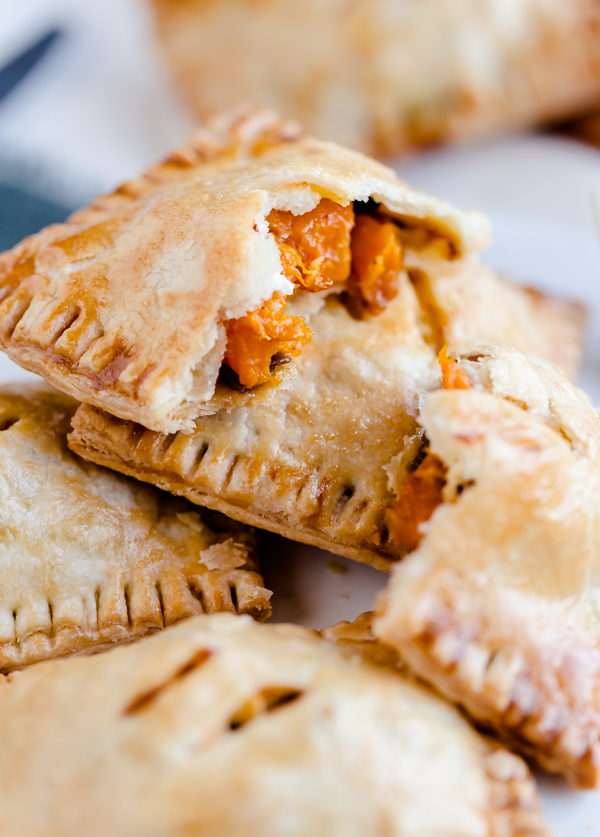 Butternut and Feta Hand Pies