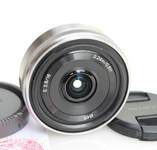 Lensa bekas Sony E 16mm f2.8