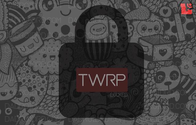 Atasi masalah TWRP yang terkunci, TWRP yang tidak bisa membuka internal memory