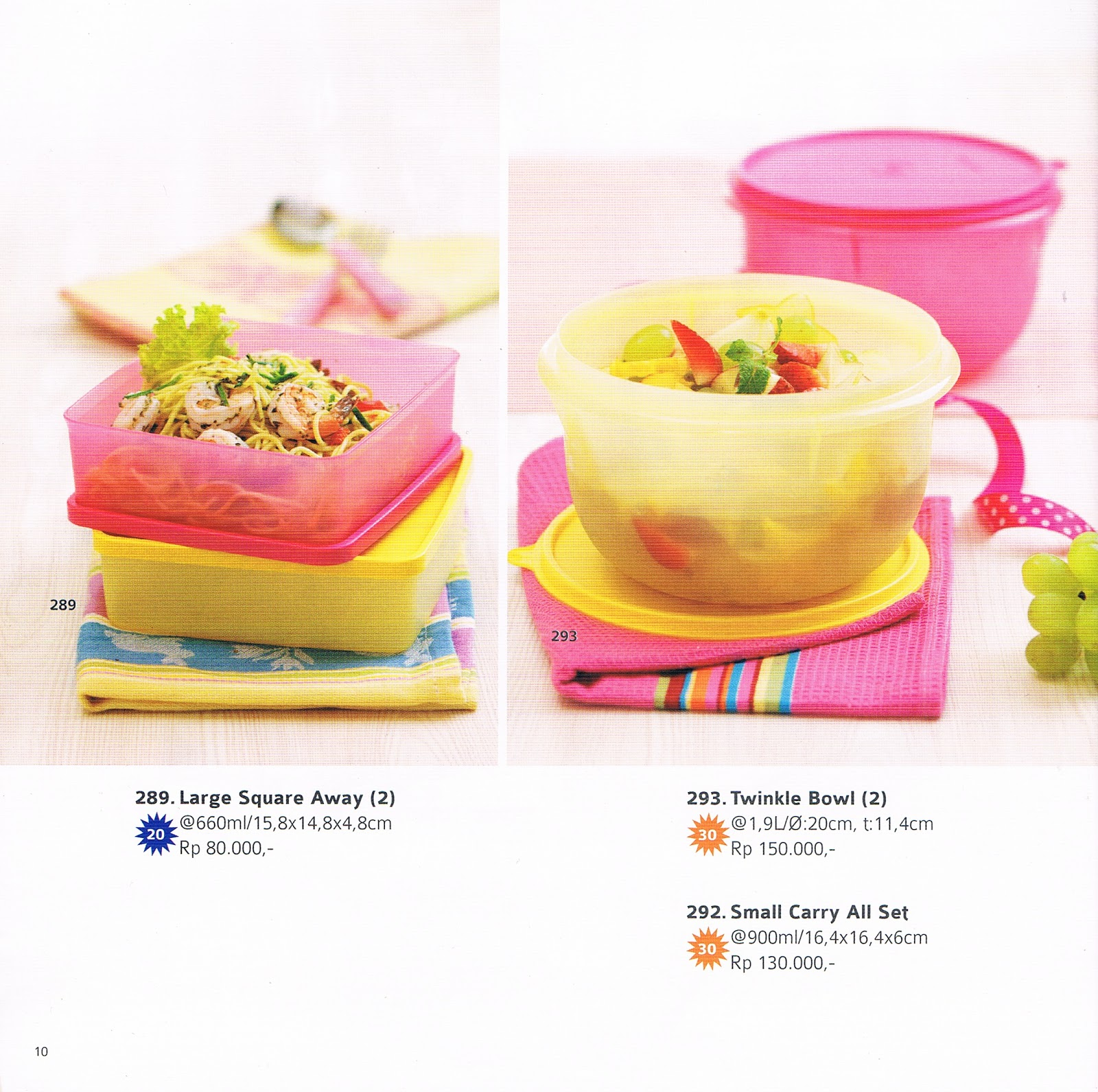 katalog tupperware reguler november 2013
