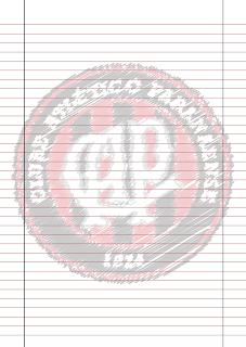 Papel Pautado do Atletico Paranaense rabiscado PDF para imprimir na folha A4
