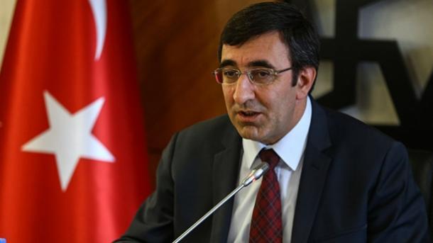 Yilmaz empfängt Vorstandsvorsitzenden der makedonisch-türkischen Handelskammer
