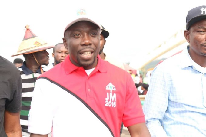 John Dumelo, Mr. Beautiful spotted at NDC Campaign Launch