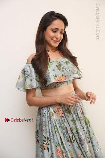 Actress Pragya Jaiswal Stills in Floral Dress at turodu Interview  0019.JPG