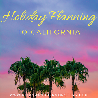 Holiday Planning To California - San Diego