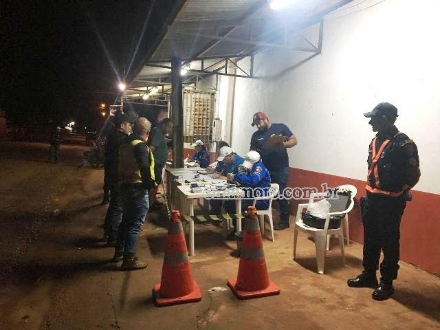 Quatorze pessoas são autuadas em blitz da Operação Lei Seca em Guajará-Mirim