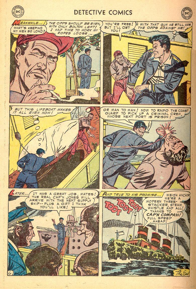 Read online Detective Comics (1937) comic -  Issue #214 - 22