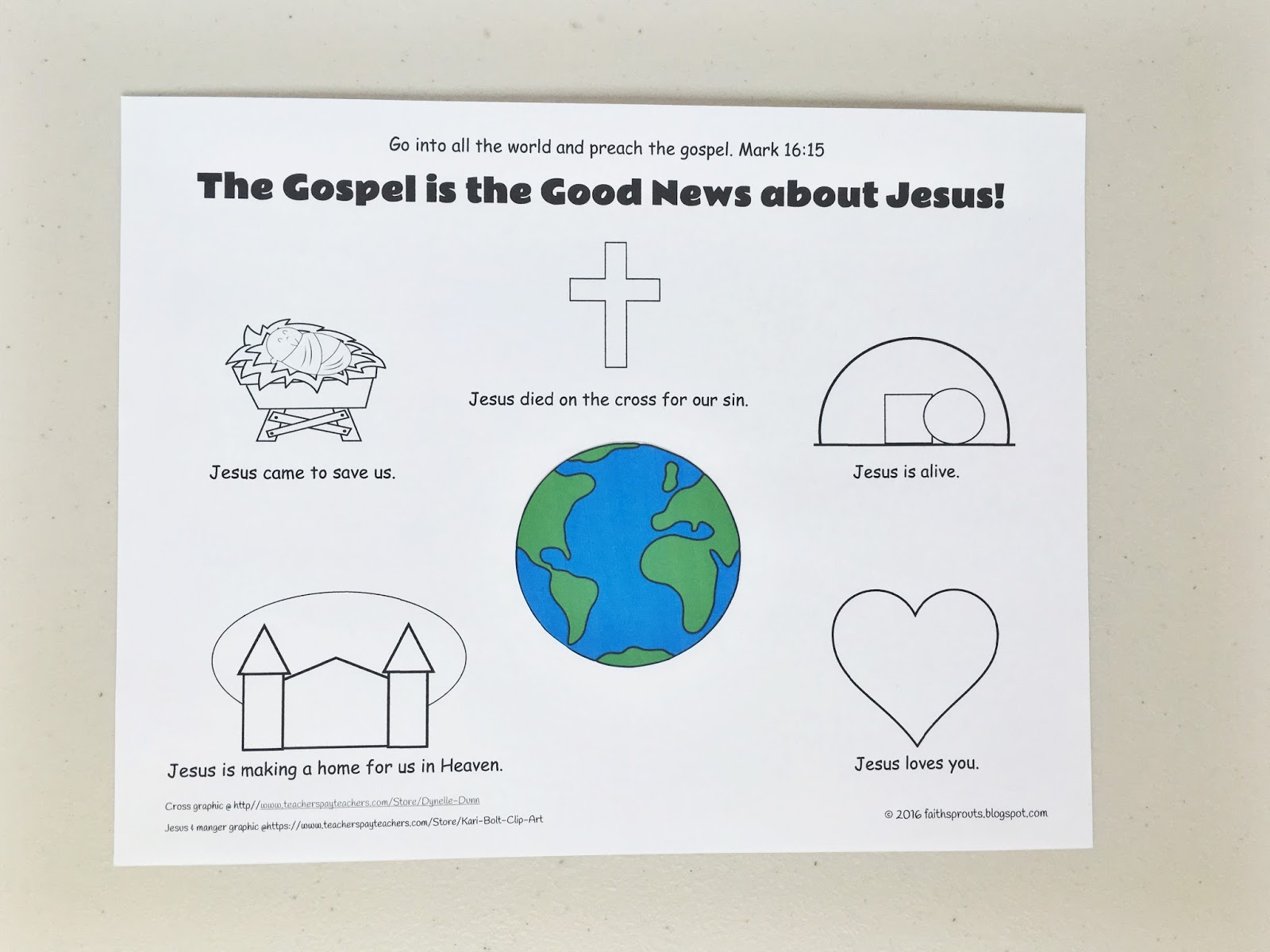 Faith Sprouts The Gospel Is Good News