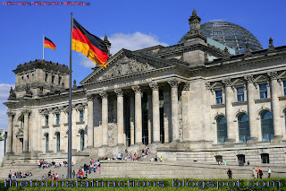 Vector Symbols Of Germany Famous Places In