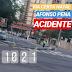 Poste caído na Afonso Pena deixa avenida bloqueada