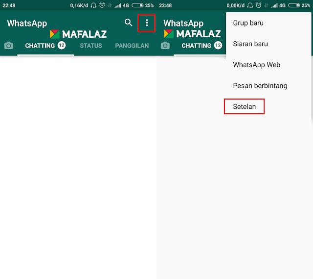 1. Cara Back-Up Data WhatsApp Ke Google Drive