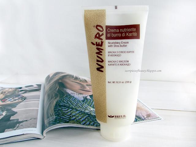 Маска для волос с маслом карите и авокадо от Brelil