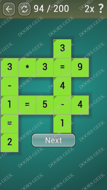 Math Games [Beginner] Level 94 answers, cheats, solution, walkthrough for android
