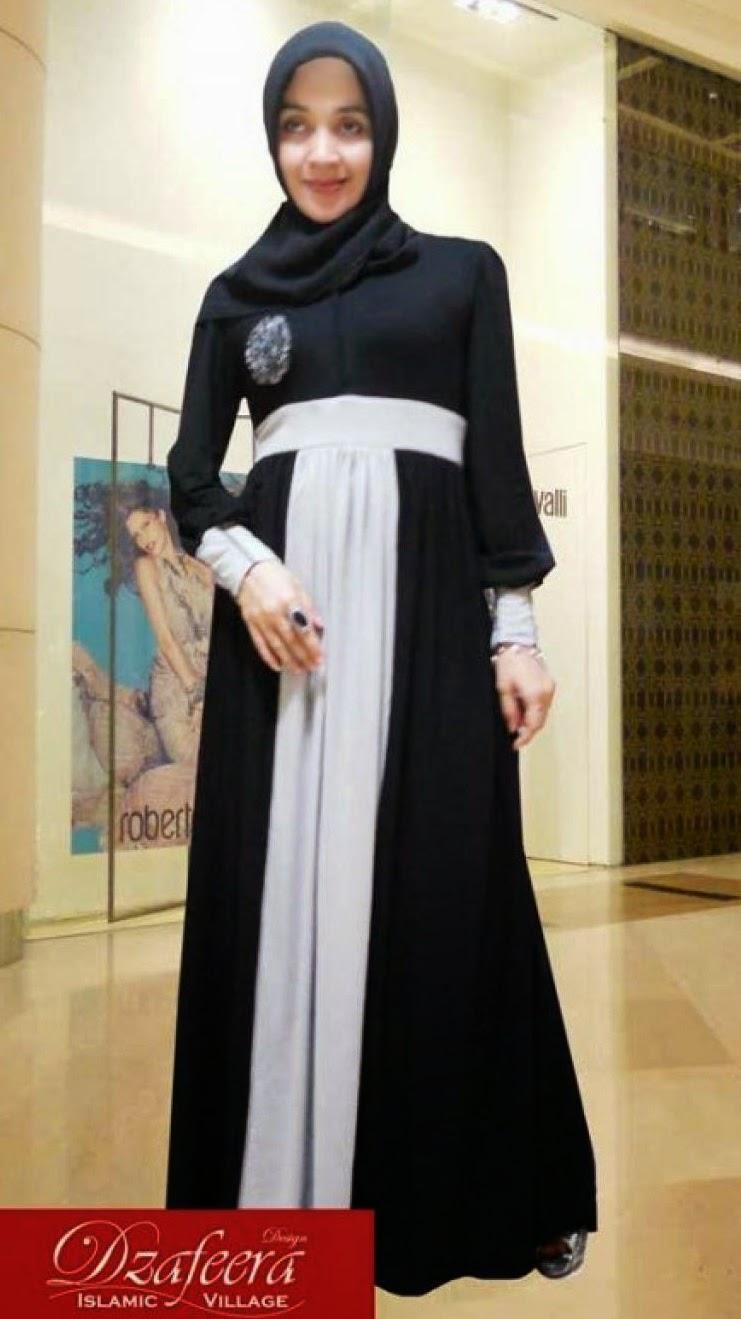 Model Baju Muslimah Modis Berbahan Kaos Danitailor
