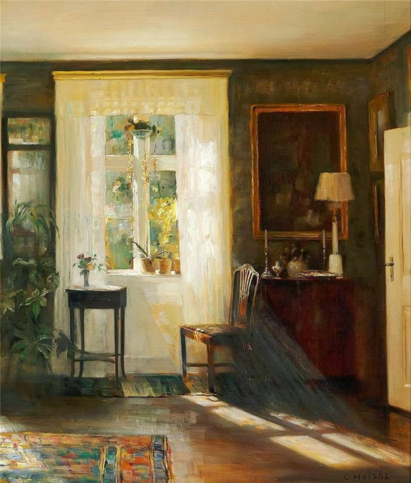 carl vilhelm hols e interior painter tutt 39 art. Black Bedroom Furniture Sets. Home Design Ideas