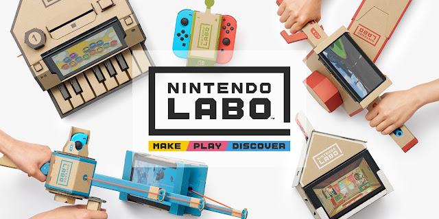 Nintendo labo: perplessità incomprese!