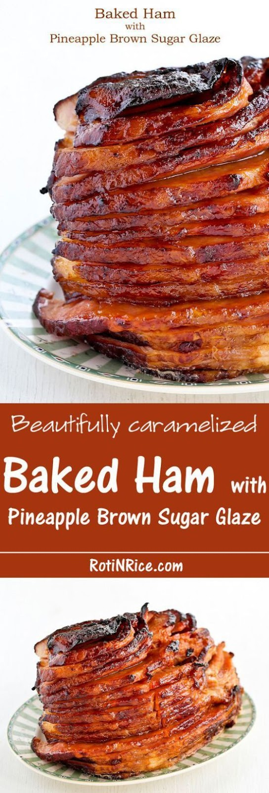 Baked Ham with Asian Barbecue Glaze