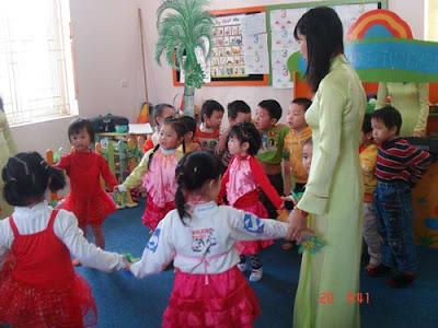 Tuyển sinh học sư phạm mầm non tại Bà Rịa-Vũng Tàu