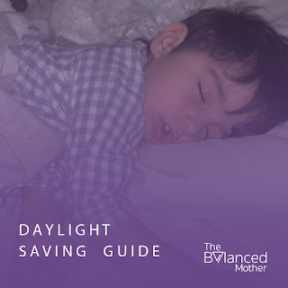 End of daylight saving guide