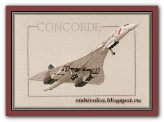 "Heritage Crafts Серия: Aeroplanes ""CCD265 Concorde"""