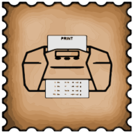 print stamp icon