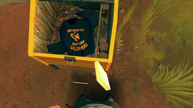 Firewatch easter egg The last of us