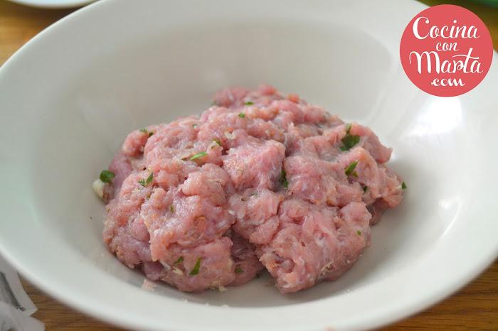 mini haburguesas de cordero, carne de cordero, tzatziki, fácil, rápido, Cocina con Marta