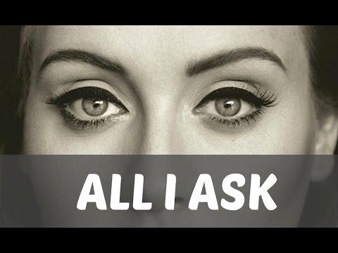 Lirik dan Chord Adele - All I Ask | lirikhome