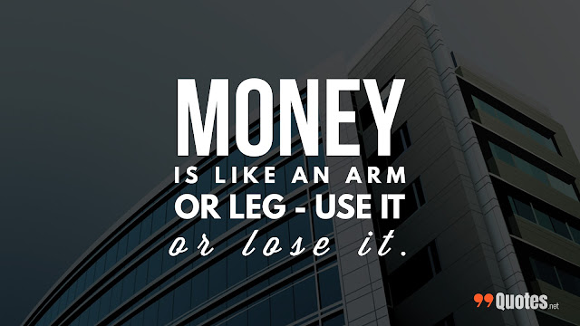 quote about saving money