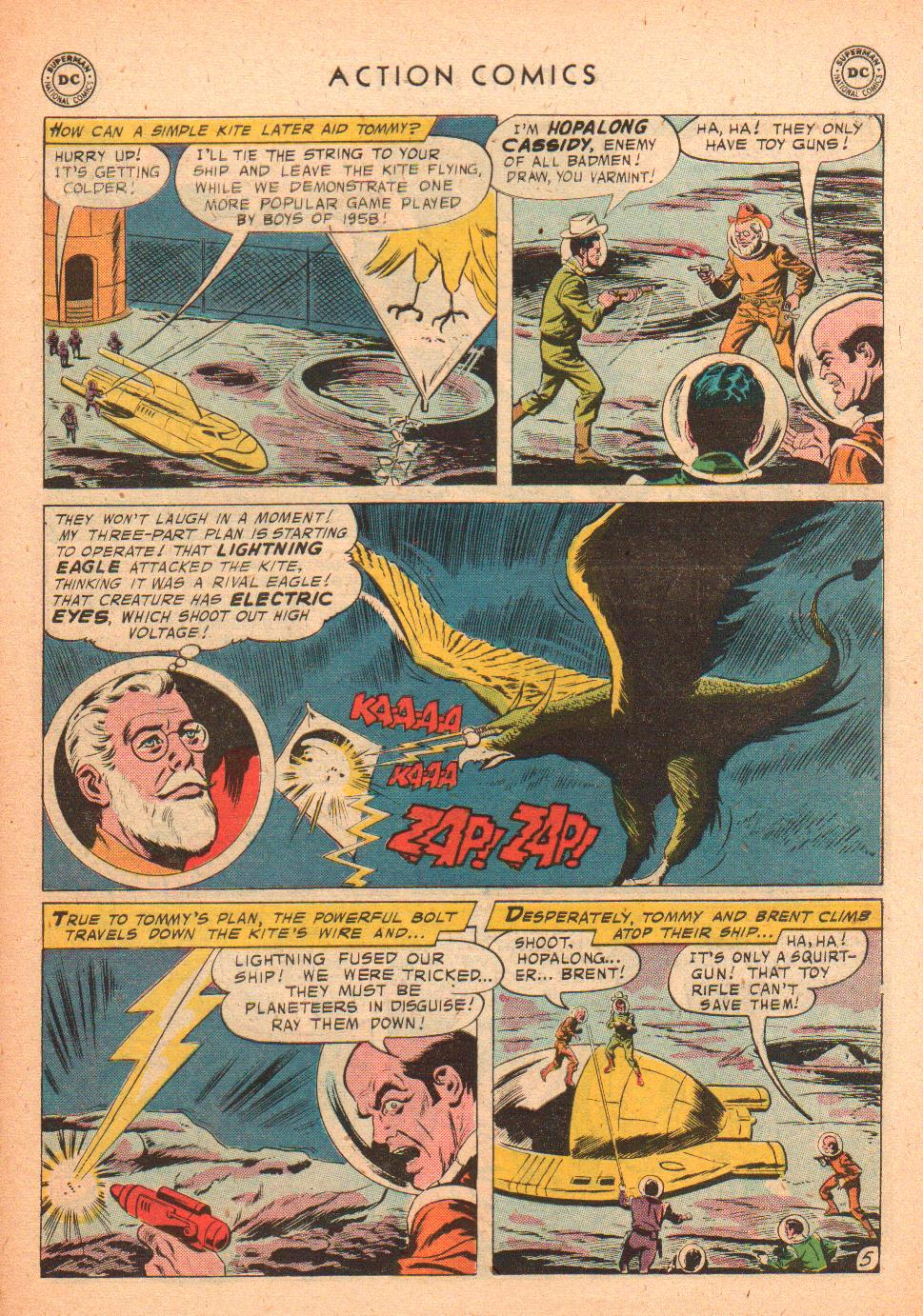 Read online Action Comics (1938) comic -  Issue #239 - 31