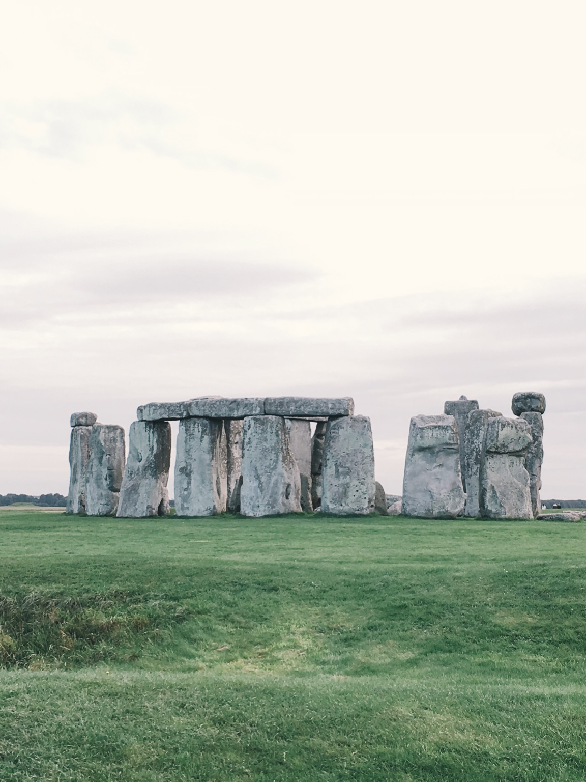 Stonehenge outside of London, England