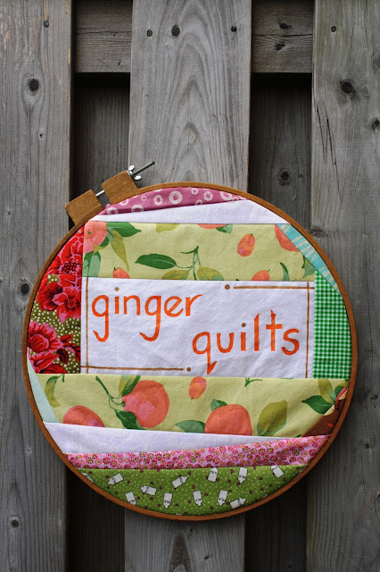 Ginger Quilts... website up and running :)