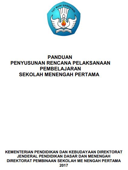 Download Panduan Penyusunan Rpp Smp Sesuai Permendikbud Nomor