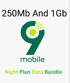 9mobile etisalat night plan