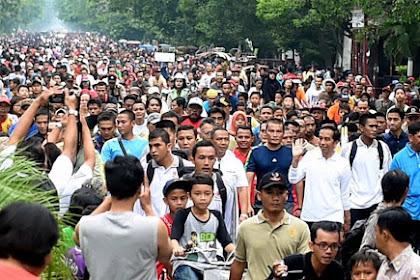 Hasil Survei Terus Unggul, Bukti Kepemimpinan Jokowi Disukai Rakyat - Semar News