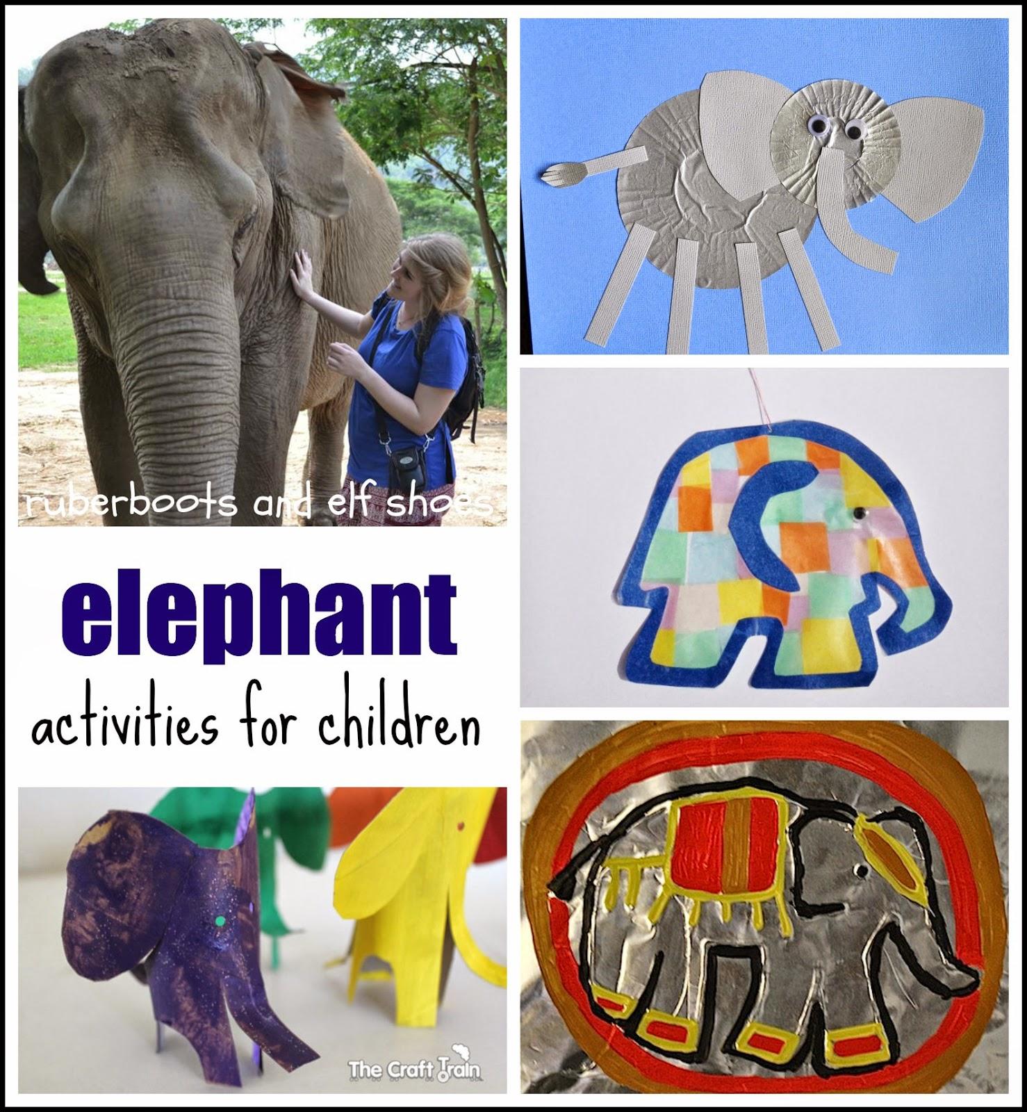 Elephant Activities For Children