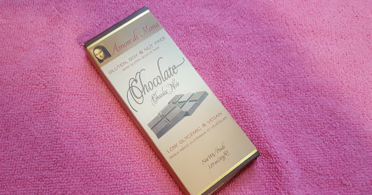{Product Review} Amore di Mona Chocolat Noir Bar (Top 8 Free, Organic, Non-GMO, Kosher, Vegan, Low Glycemic, Diabetic Friendly, Preservative and Artificial Ingredient Free)