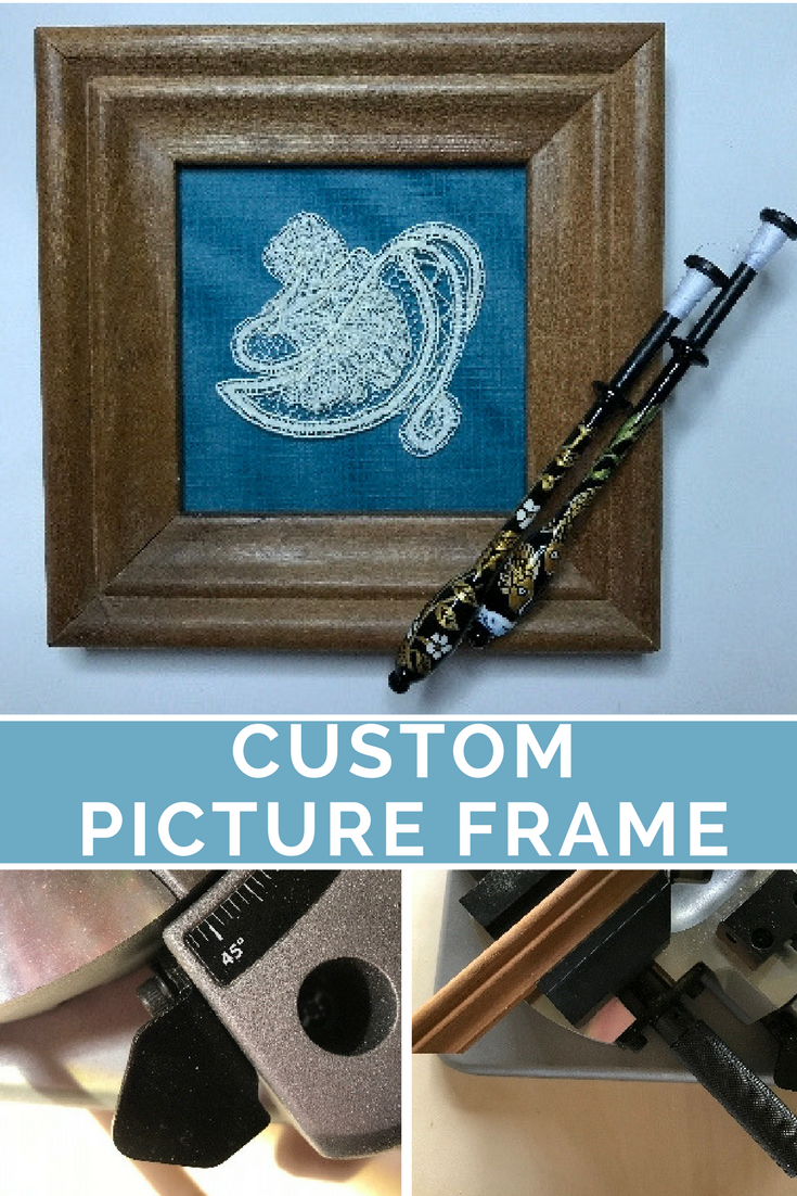 Tiny Tool Time: How To Make a Custom Picture Frame