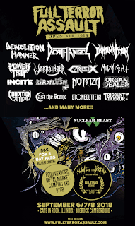 2018 Full Terror Assault Open Air at Cave In The Rock, IL