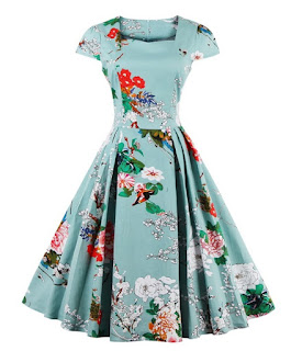 https://www.dresslily.com/cape-sleeve-floral-print-flare-dress-product1547101.html